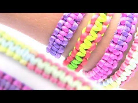 ♥ ♥ LEEME / DESPLIEGAME ♥ ♥ PULSERAS DE MODA FÁCILES NUDOS PLANOS Una manera fácil de hacer tus propias pulseras . Publicar vuestras fotos en la pagina de me...
