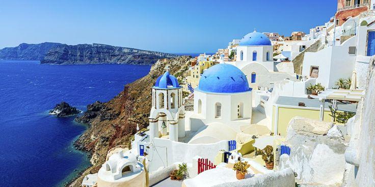 Griechisches paradies santorin 7 tage im 4 sterne hotel for Design budget hotel salinenparc 0 sterne