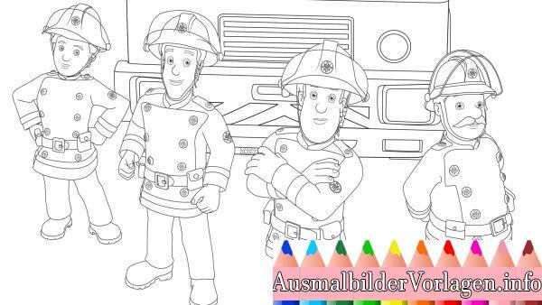 Feuerwehrmann Sam Jupiter Ausmalbilder Feuerwehrmann Sam Feuerwehrmann Feuerwehrmann Sam Jupiter