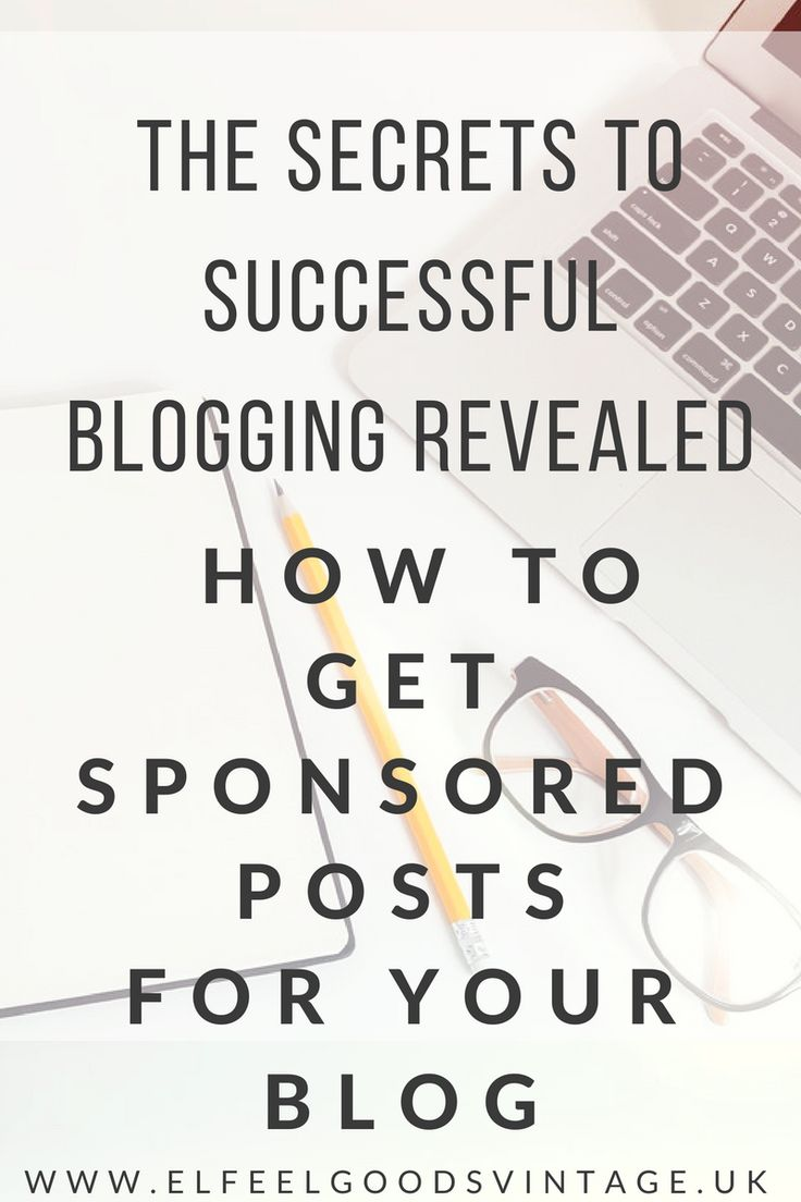 Want to know how to get sponsored posts for your blog? Follow my easy steps and head over to www.elfeelgoodsvintage.uk to read how.