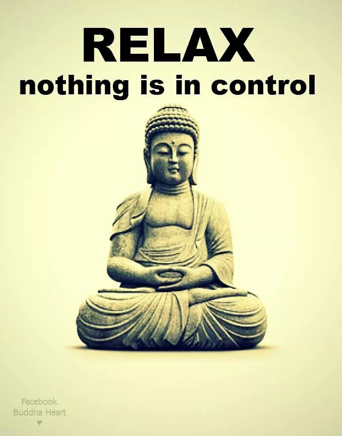 Relax ~ nothing is in control