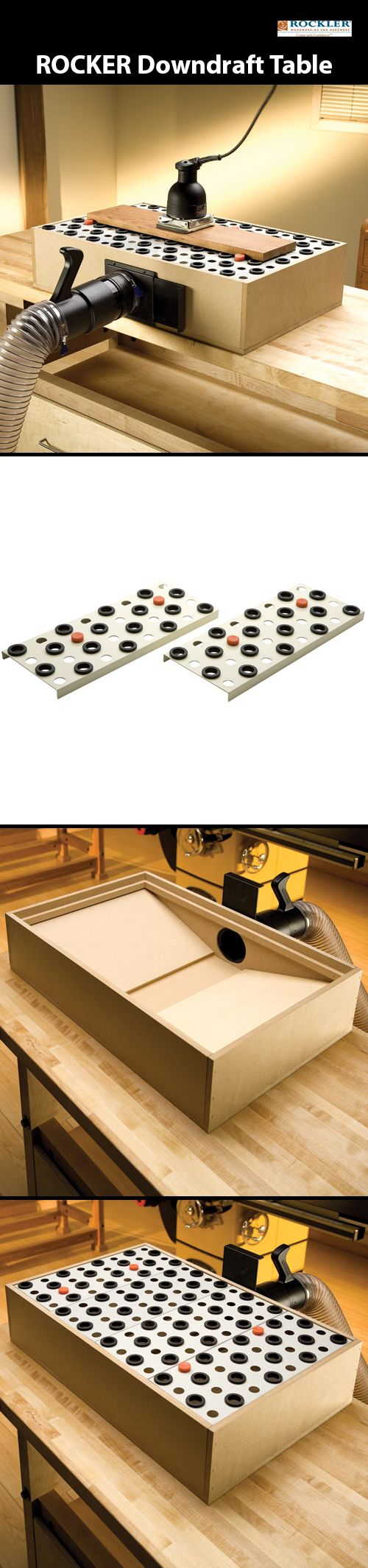 a box for Rockler Downdraft Table Panels