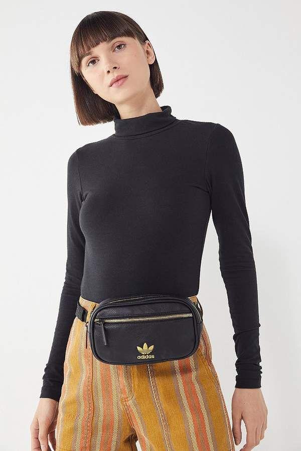 737dcdd0430e Adidas Originals Faux Leather Belt Bag