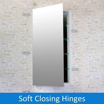Flawless MC Medicine Cabinet  This contemporary medicine cabinet features a clean, antiseptic look that blends traditional functions with modern tastes. The unique engineering of FLAWLESS medicine cabinets provide customers with the incomparable quality they deserve.   Solid aluminum rust free body Recessed or surface Mounted For surface mounted optional, side mirror panels available Adjustable tempered glass shelves Double door with full length mirrors on both sides Mirrored back wall…