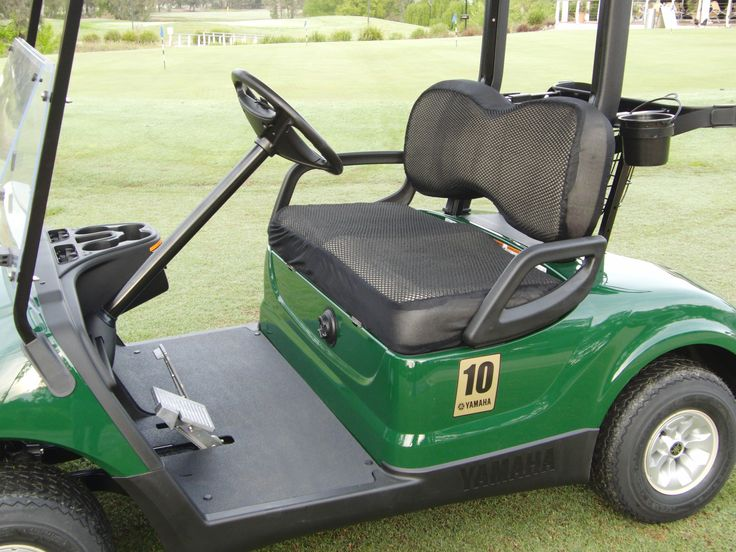 Add an extra layer of comfort to your cart. www.cooldrycovers.com
