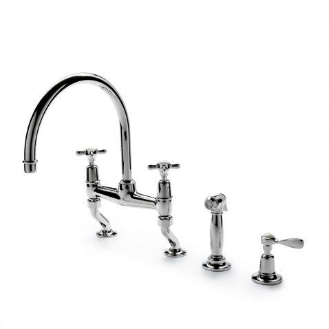 Waterworks Brass Kitchen Faucets