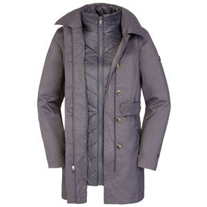 Womens Riverdale Trench Triclimate Jacket