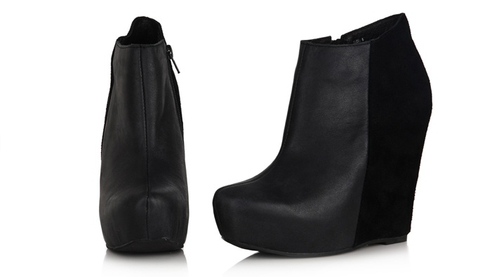 Merlin Wedge Bootie by Restricted