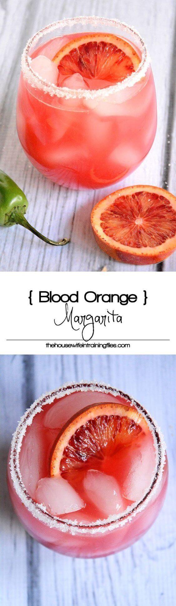 cool Blood Orange Margarita