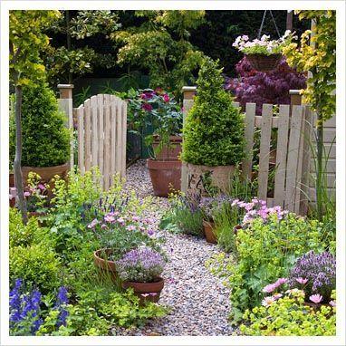 Sweet garden path.