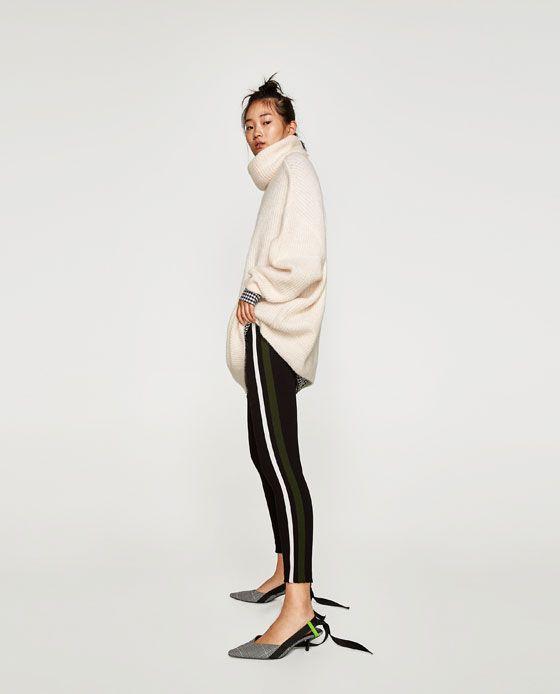 ZARA - WOMAN - LEGGINGS WITH DOUBLE SIDE STRIPE