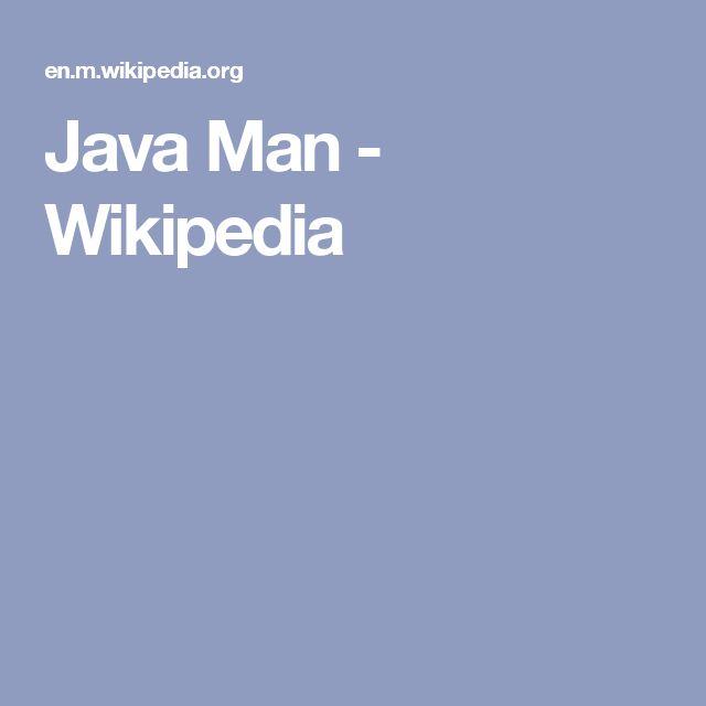 Java Man - Wikipedia