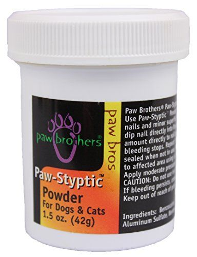 Paw Brothers Paw Styptic Powder 1.5 oz. * Check out this great product.