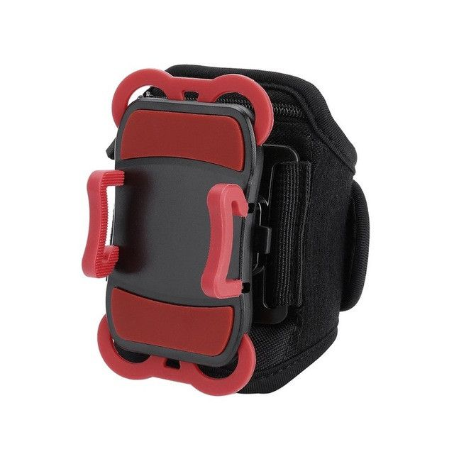Running Sports Armband Retractable Mobile Phone Holder Clip Stand Sports Belt GYM Arm Band Strap Activities Accessories