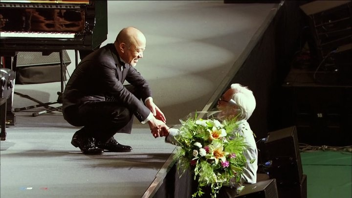 A great meeting : Mamoru Fujisawa ( Joe Hisaishi) and Hayao Miyazaki.