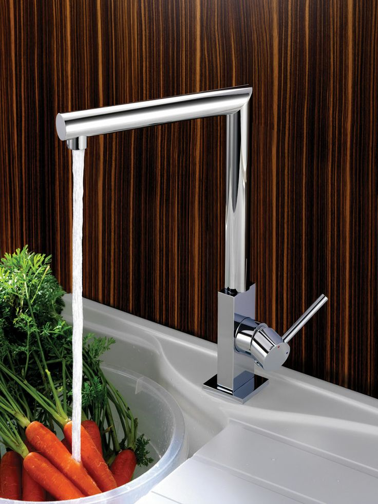 Reginox Niagara for contemporary style lovers. http://www.sinks-taps.com/item-10206-NIAGARA_Monobloc_Kitchen_Tap.aspx