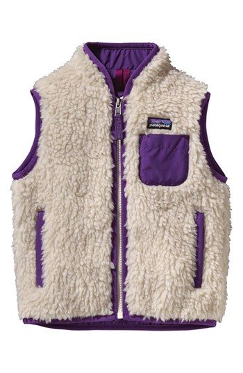 Patagonia 'Retro-X' Vest (Baby Girls) available at #Nordstrom