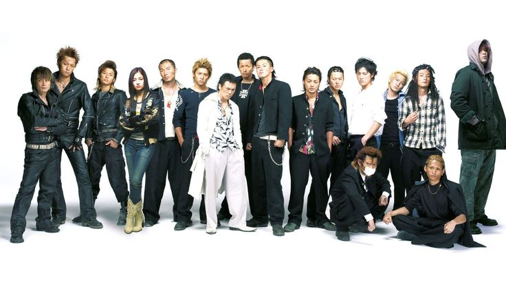 Download free Entertainment wallpaper Crows Zero 2 6300 to your