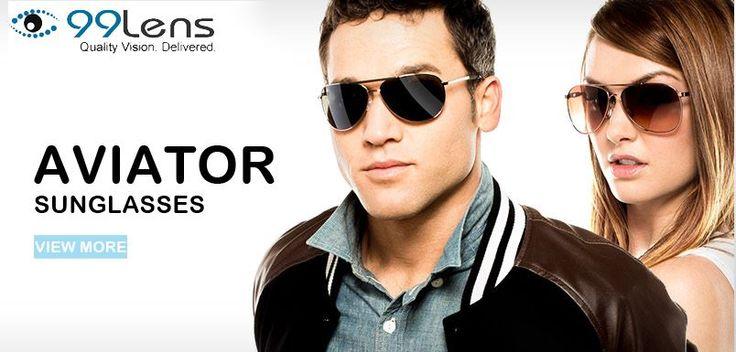 aviator sunglasses for men 99Lens.com