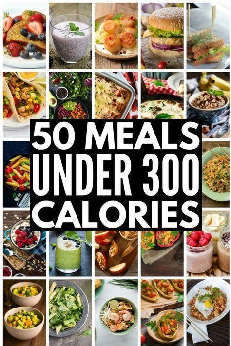 50 Mahlzeiten unter 300 Kalorien: Wie man Gewicht verliert, ohne zu verhungern!