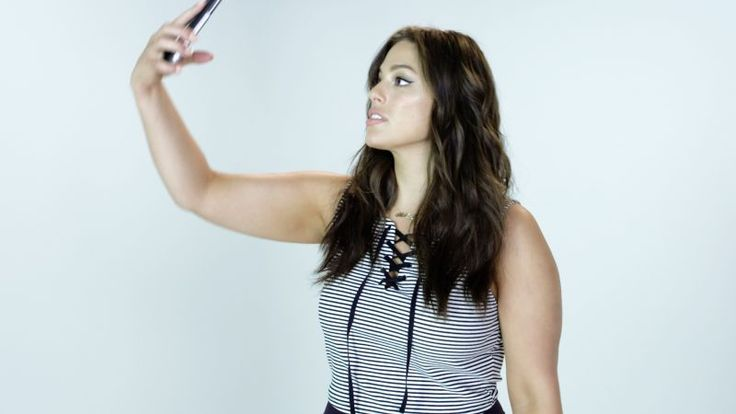 Ashley Graham walks viewers through her steps for taking the perfect selfie.