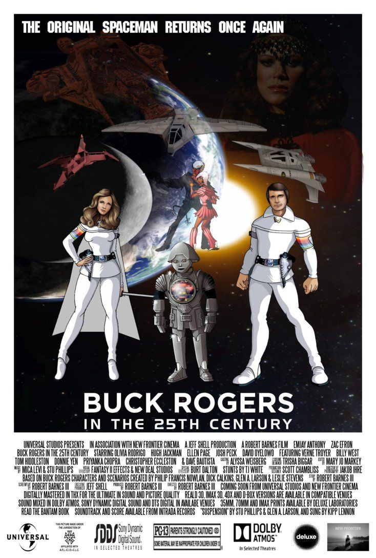 Buck Rogers Reboot Movie Poster