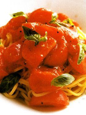 フルーツトマトの冷たいタリオリーニ [クックパッド] 簡単おいしい ...