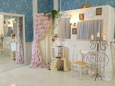Оформление свадеб. Оформление фотозоны (фото будка) в стиле Прованс