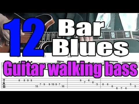 10 best jazz guitar ebooks images on pinterest guitars e books blues jazz guitar walking bass comping mini lesson with tabs fandeluxe Gallery