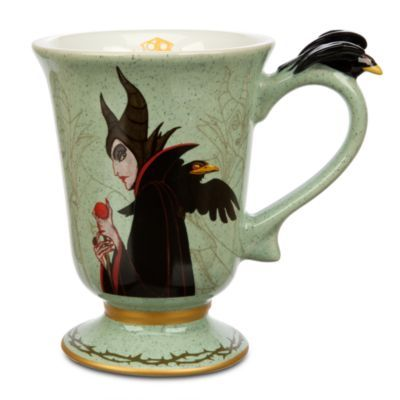 Maleficent Mug - Sleeping Beauty from Disney Store for $14.95. Good morning to you, you badass motherfucker.