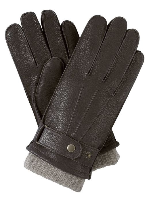 Des gants en cuir