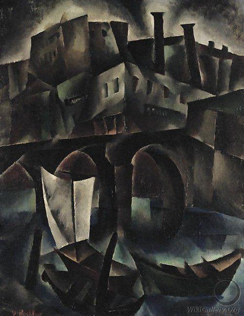 Vera Rockline Vue de Tiflis, Georgia. (1917)