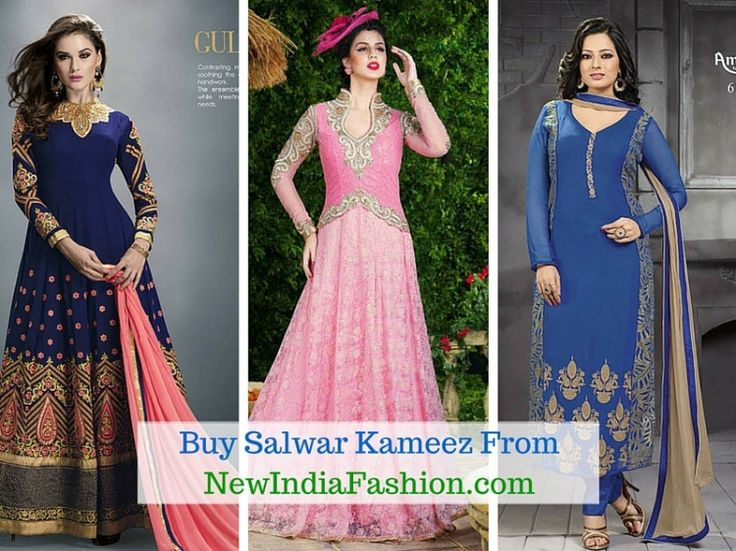 Why It Is Better To Buy #Salwar #Kameez Online From Indian Retailers?