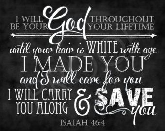 Items similar to Christian Chalkboard Art Printable {Isaiah 54:10 ...
