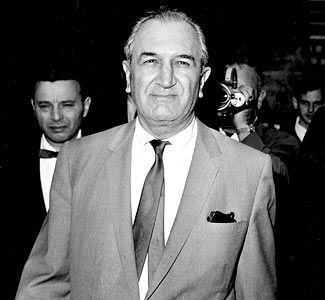 Joseph Bonanno  He hated his nickname joe bananas bonanno, but this resident of New York City Brooklyn, New York, the boss of one of the city's Italian-American crime families how many are there New York five major crime families was never convicted of a serious crime in his lifetime. He used a legitimate business to get rid of bodies. joe bonanno funeral parlor.