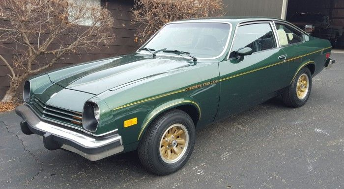 Stuck in the '70s: time machine 1976 Cosworth Vega heads to auction