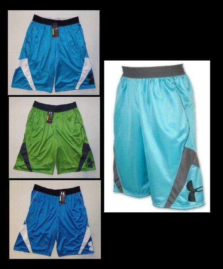 "Under Armour Mens EZ Mon Knee Basketball Shorts 12"" Inseam 1236110 MED LG XL 2XL #UnderArmour #Shorts"