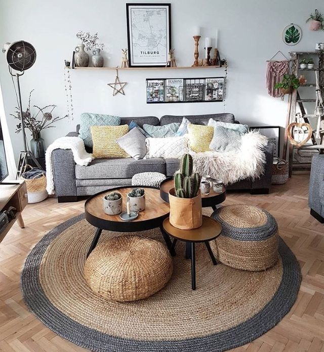 Pin By Tonee Ariel Gwinn On Living Room Round Rug Living Room Room Furniture Design African Living Rooms