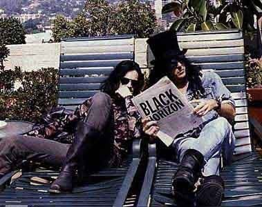 Andrew Eldritch and Tony James - The Sisters Of Mercy