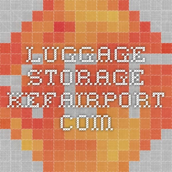 Luggage storage - Kefairport.com  5 euro/day, 1 euro after that (for us, approx $70 CDN)