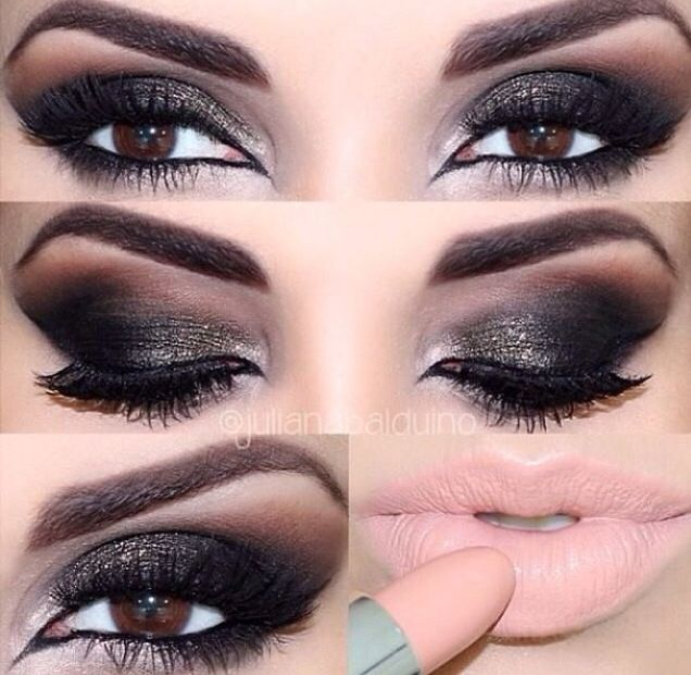 smokey eyes nude lips products i love make up tips. Black Bedroom Furniture Sets. Home Design Ideas
