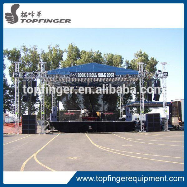 Music Festival Concert Aluminum Stage Roof thomas Truss System , DJ