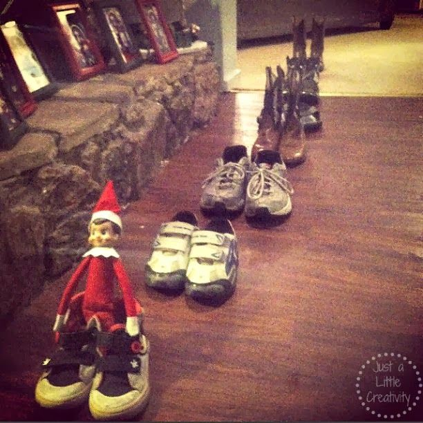 Just A Little Creativity: MORE Ideas for The Elf on the Shelf from Ringo Bells {2012}