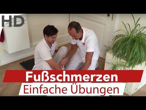 Übungen gegen Fußschmerzen LNB Schmerztherapie