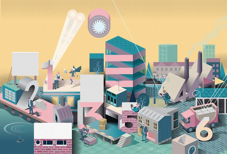 Nils-Petter was commissioned by Stockholm Creative Partner to illustrate the benefits of the new Smartphone service from Atea. Atea is the third largest IT infrastructure supplier in Europe. Illustration: Nils-Petter Ekwall Client: Atea