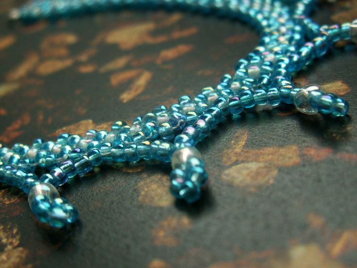 Traditional transilvanian  bead necklace