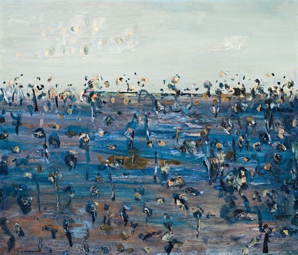 Fred Williams. Australian artist.