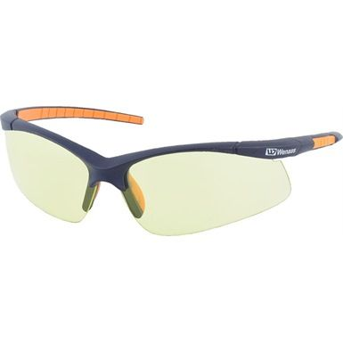 Wenaas 902 Safety Glasses are slim and lightweight. They offer UV400 protection and conform to EN166 specification.