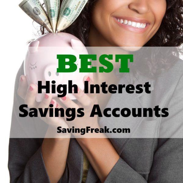 Best High Interest Savings Accounts