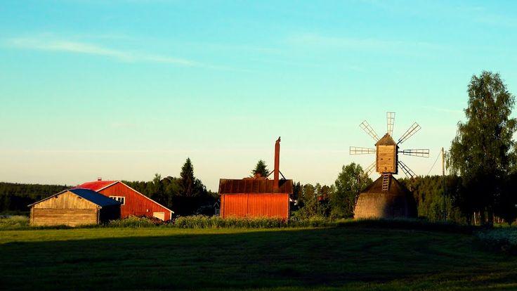 Suutala windmill. - Töysä, Finland